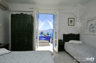 Groundfloor Sea View Studio Castello Bedrooms
