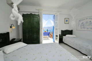 Groundfloor Sea View Studio Castello balcony