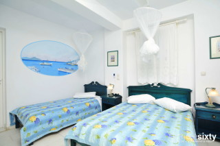 Groundfloor Studios Without Seaview castello two single beds